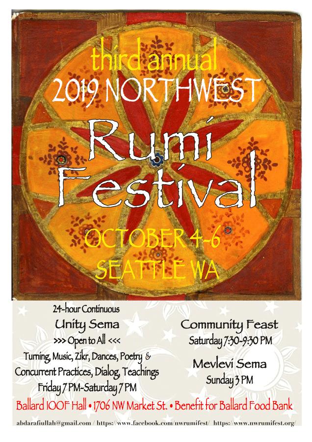 Northwest Rumi Festival 2019 @ Ballard Odd Fellows